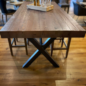 Pine Counter Height I-Beam Table