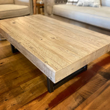 Load image into Gallery viewer, 4X Pine Timber Slab Coffee Table