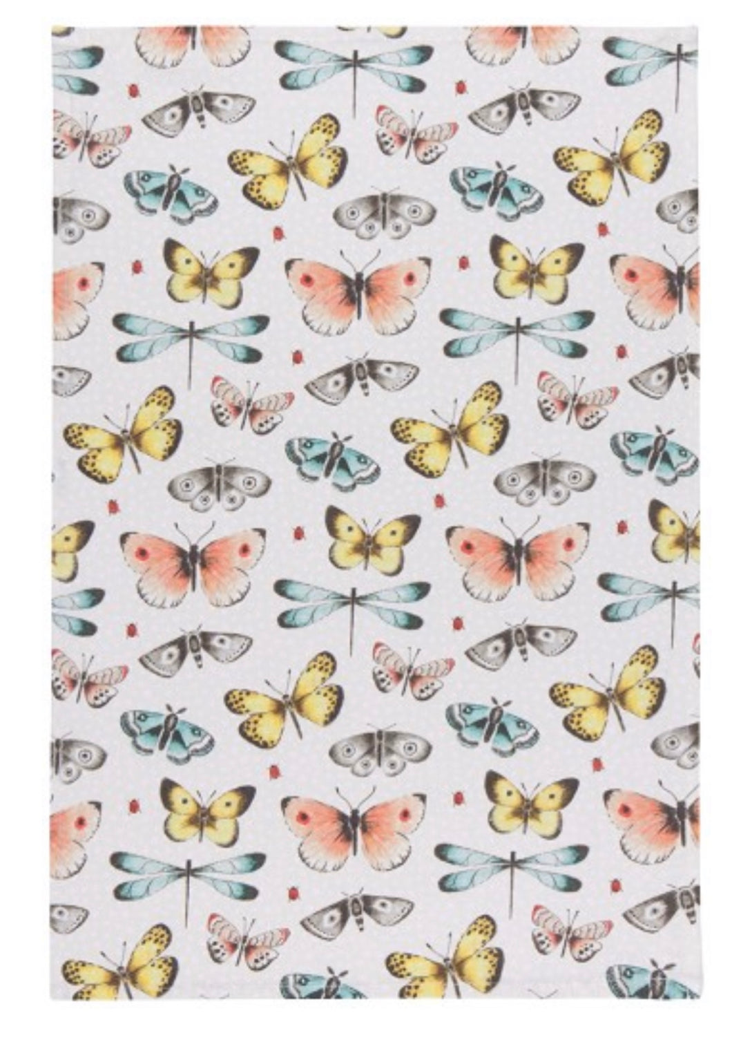 Butterfly Cotton Kitchen Towels