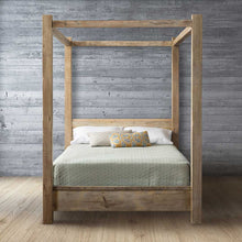 Load image into Gallery viewer, Timber Canopy Bed
