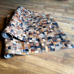 Leather Jean Tag Rug