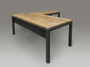 Custom Parsons Corner Desk