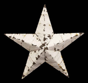 Reclaimed Tin Star