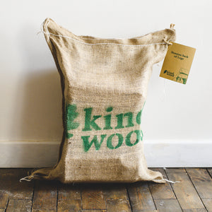 Hessian Sack of Logs