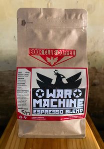 War Machine Espresso Blend