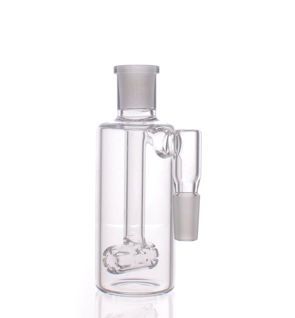 Nameless Glass Barrel Perc Ash Catcher - 90º