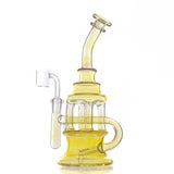 Nameless Glass Silver Fumed Inline Dab Rig