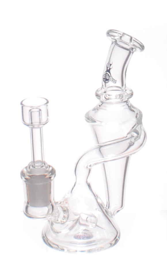 Chameleon Glass Hydrology Mini-Recycler Dab Rig