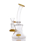Nameless Glass Showerhead Perc Mini Beaker Bong
