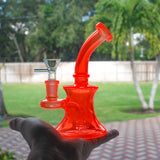 Nameless Glass Neon Mini Bong - 7""