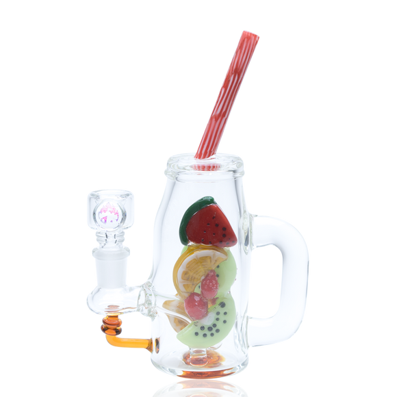 Empire Glassworks Mini Watermelon & Orange Detox Rig
