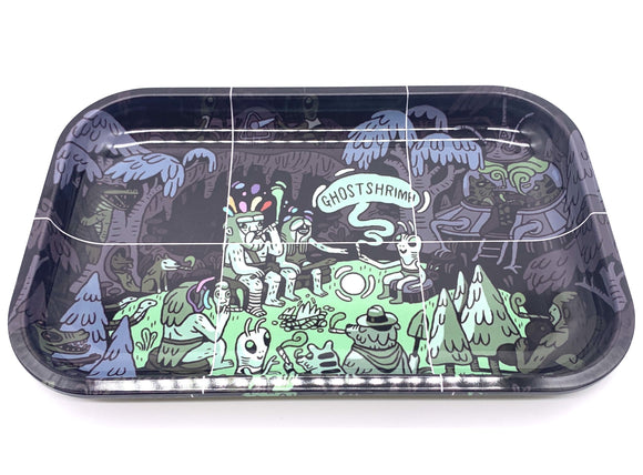 Ghost Shrimp Rolling Tray - 7