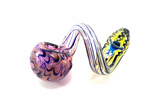Chameleon Glass Oxford Loop Pipe