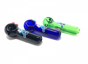 Chameleon Glass Combo Spoon Pipe