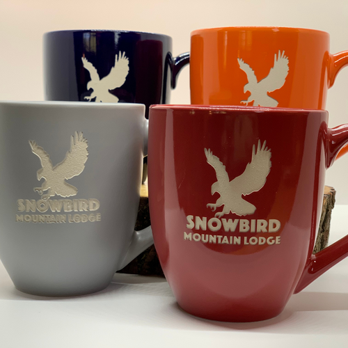 Snowbird Modern Coffee  Mugs