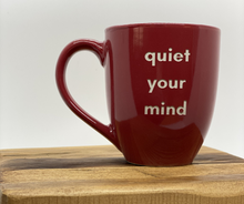 Load image into Gallery viewer, Follow-Your-True-North-Mug-red-quiet-your-mind