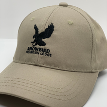 Load image into Gallery viewer, Snowbird Logo Hats Khaki