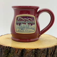 Load image into Gallery viewer, Red Snowbird Mountain Lodge Coffee Mug