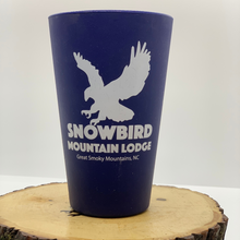 Load image into Gallery viewer, snowbird sili pint cup blue