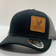 Load image into Gallery viewer, Snowbird Leather Patch Hats - SML Eagle Blue