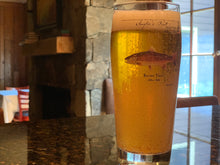 Load image into Gallery viewer, Angler Pint Glass Brown Trout