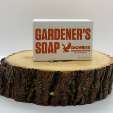 Load image into Gallery viewer, Snowbird Mountain Lodge Gardener's Soap
