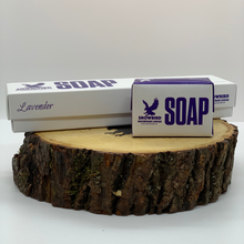 Load image into Gallery viewer, Lavender Scented Soap by Snowbird Mountain Lodge