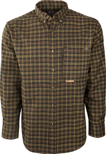 Autumn Brushed Twill Shirt