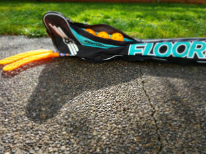 Store your Floorball sticks, balls, and other equipment in one place with the Floorball stick bag.