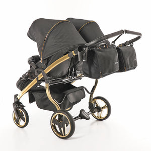 "DIAMOND S-LINE DUO ""BLACK & GOLD"" - cleo-kinderwagen.de"