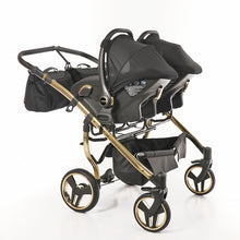 "Laden Sie das Bild in den Galerie-Viewer, DIAMOND S-LINE DUO ""BLACK & GOLD"" - cleo-kinderwagen.de"