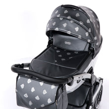 "Laden Sie das Bild in den Galerie-Viewer, GLOW ""GREY"" - cleo-kinderwagen.de"