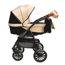 "Laden Sie das Bild in den Galerie-Viewer, VERSO ""BLACK & BEIGE"" - cleo-kinderwagen.de"