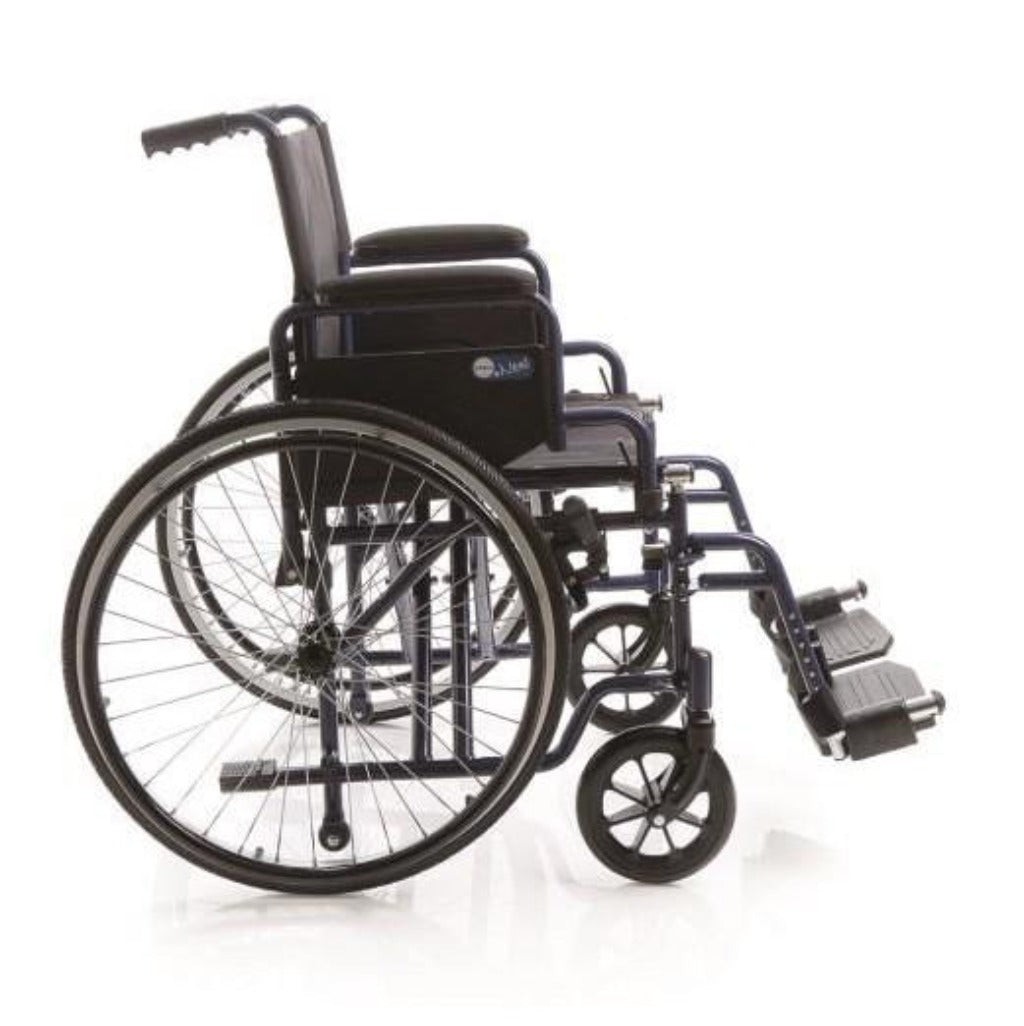 WHEELCHAIR W STANDARD WHEELS