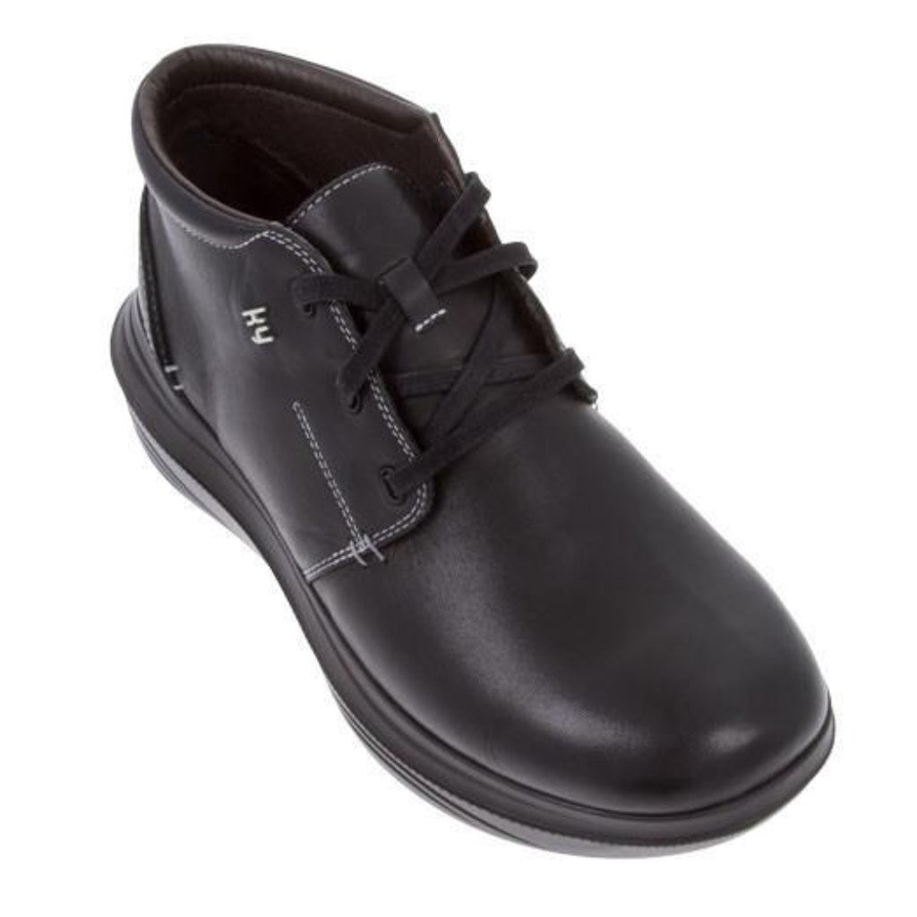 MENDRISIO BLACK MEN SHOE