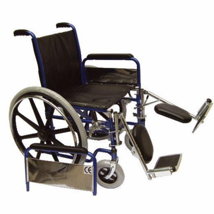 WHEELCHAIR  WITH ELEVATING FOOTREST