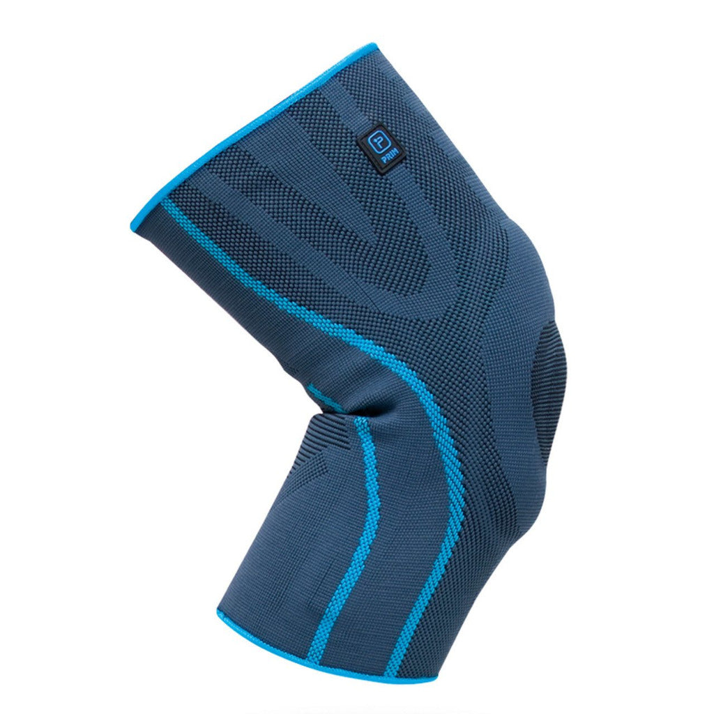 KNEE BRACE WITH SILICONE AND SIDE STABILIZERS