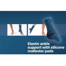 ELASTIC ANKLE SUPPORT WITH SILICONE PADS