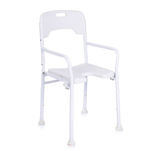 Shower Chair with Back - Folding