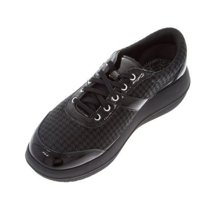 AUBONNE WOMEN BLACK POULE SHOES
