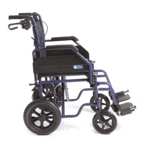 Wheelchair  With Medium Size Back Wheels