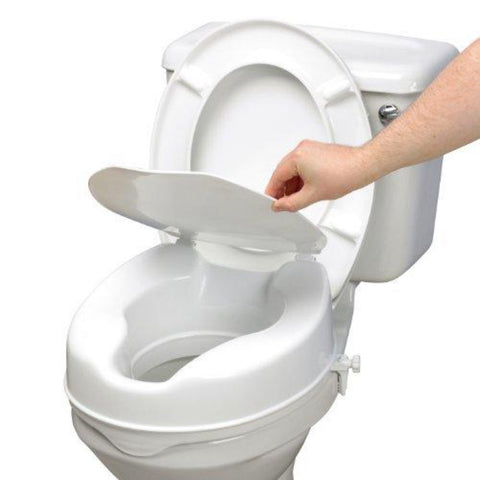 TOILET RAISER 15 CM WITH LID