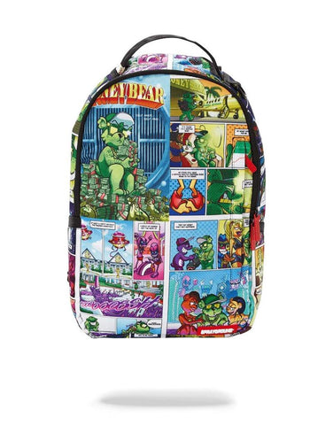 SPRAYGROUND BACKPACK MONEY BEAR COMIC