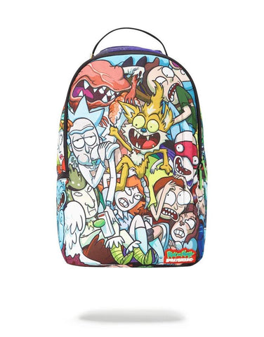SPRAYGROUND BACKPACK RICK & MORTY CRAMMED