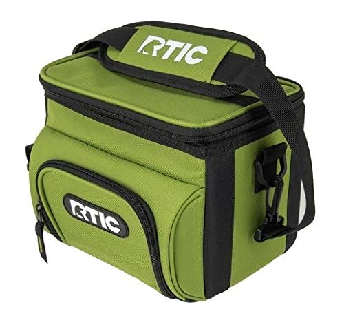 RTIC Day Cooler (Green, 15-Cans) - backpacks4less.com