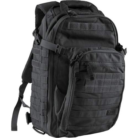 5.11 Tactical All Hazard's Prime Backpack 29L, 1050D Nylon, with Padded Laptop Sleeve, Style 56997, Black - backpacks4less.com