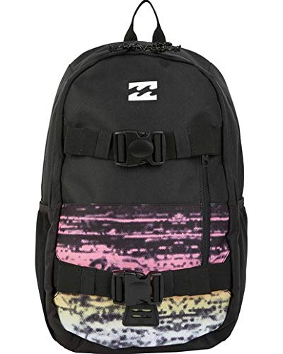 Billabong Men's Command Skate Backpack Black Multi One Size - backpacks4less.com