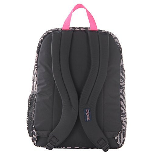 JanSport Unisex Big Student Grey Tar Wild At Heart One Size - backpacks4less.com