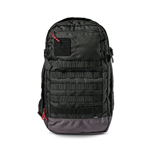 5.11 Rapid Origin Tactical Backpack with Laptop Sleeve, Hydration Pocket, MOLLE, Style 56355, Black - backpacks4less.com