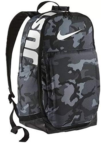 "NIKE Brasilia Backpack, X-Large, 15"" Laptop - CAMO Dark Grey (CK0942-021) - backpacks4less.com"